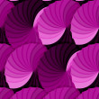 Royalty-Free Stock Photo: Seamless pink gradient rosettes pattern