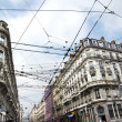 Tramway cables criss-cross — Stock Photo #8973675