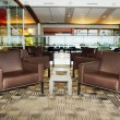 Seats and tables at airport — Stock Photo #9030105