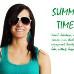 Summer time girl — Stock Photo #9580928