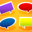 speech bubbles — Stock Vector #9665270