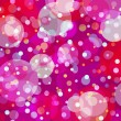 Bubbly fun background — Stock Vector