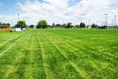 Football or soccer field — Stockfoto