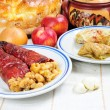 Traditional lenten fare from Balkans — Zdjęcie stockowe #8755670