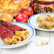 Traditional lenten fare from the Balkans - Foto de Stock