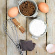 Sweet ingredients for cake — Stok fotoğraf