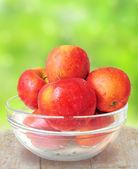 Kom verse appelen — Stockfoto