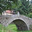 Small stone bridge - Foto Stock