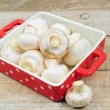 Raw mushrooms — Stock Photo