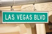 бульвар лас-вегас — Стоковое фото