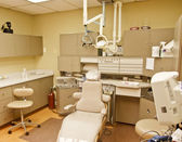 Empty Dentists Chair — Stock Photo