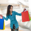 Stock Photo: Asian shopper