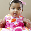 Indian baby girl — Stock Photo