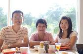 Happy jídelní čas — Stock fotografie