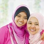 Happy Muslim women — Stock Photo #10663663