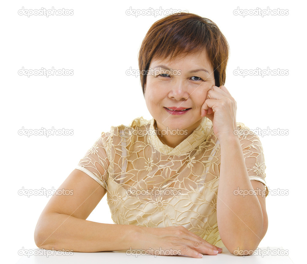 depositphotos 10664210 Asian mature woman 50s mixed race Asian mature woman isolated on white background