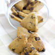 Raisins cookies — Stock Photo