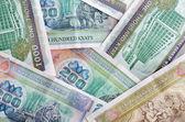 Billetes de myanmar — Foto de Stock