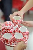 Chinese Tea ceremony — Stock Photo