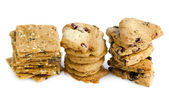 Organic Cookies — Stock Photo