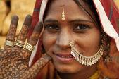 Hintli kadın — Stok fotoğraf