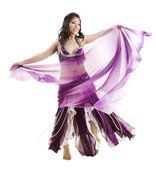 Asiatique danseuse du ventre — Photo
