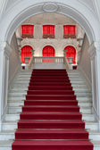 Staircase, the entrance to the palace — Stock Photo