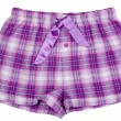 Plaid pajama pants — Stock Photo