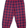 The red plaid pajama pants - Photo