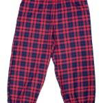 Постер, плакат: The red plaid pajama pants