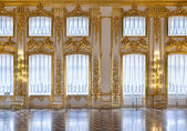 The windows of the hall of gold — Stock Photo