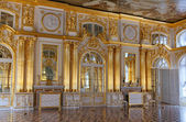 Catherine Palace, Golden Hall — Stock Photo
