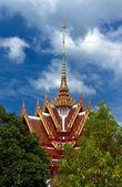 美丽的泰国庙 — 图库照片