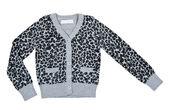 Szary sweter marmurkowy — Zdjęcie stockowe