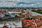 Cityscape view over the rooftops — Stock Photo