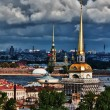 Top view of the St. Petersburg - Stock Photo