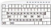 Help me on keyboard — Stock Photo