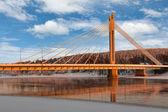 El puente sobre el río — Foto de Stock