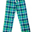Stock Photo: Plaid pants