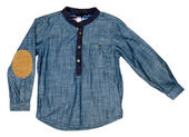 Denim shirt — Stock Photo