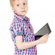 Royalty-Free Stock Photo: Boy with a Tablet PC