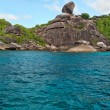 Landscape, Similan Islands — Stock Photo