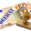 Eurozone financial crisis — Stock Photo