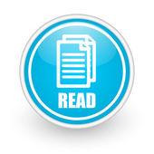 Read icon — Stok fotoğraf
