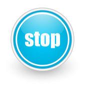 Pare de ícone — Foto Stock