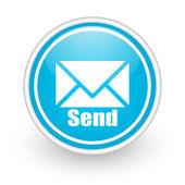 Envelope icon — Stock Photo