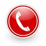 Phone icon — Stock Photo #8867304