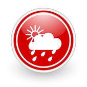 Rain icon — Stock Photo