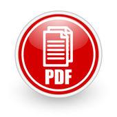 Pdf-ikonen — Stock fotografie