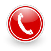 Icona telefono — Foto Stock